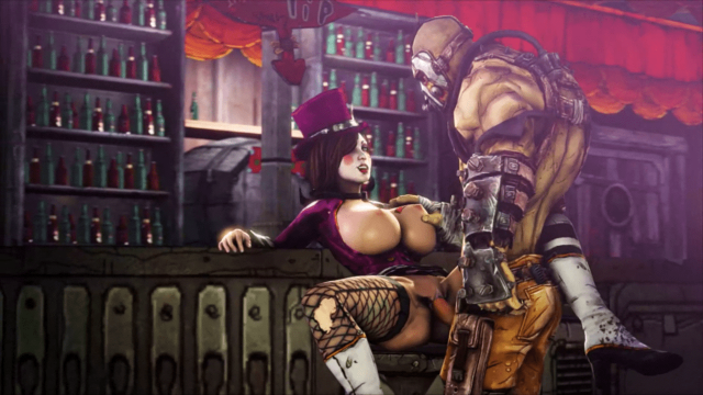 Mad Moxxi Gets Psycho Dick in the Borderlands – Missionary