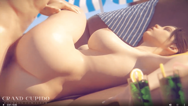 Claire Has Hot Sex on the Beach – Rule 34 SFM Video